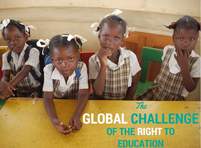 Fe y Alegría's work on the global challenge of the right to education