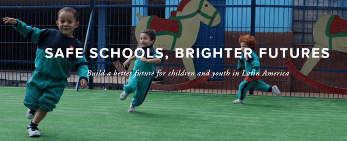 """Campaña """"Safe Schools, Brighter Futures"""""""