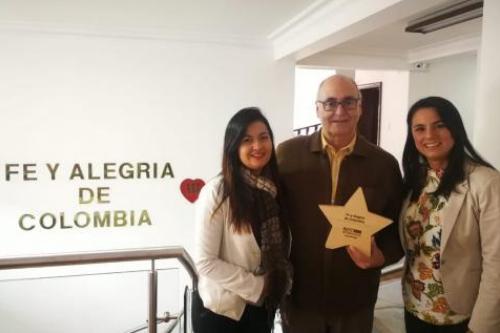 Fe y Alegría Colombia reconocida con el premio Best Workplaces 2018